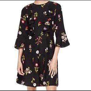 NWOT Kate Spade Floral In Bloom Dress